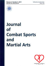 wydawnictwo Journal of Combat port and Martial Arts
