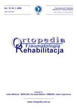 wydawnictwo Ortopedia Traumatologia Rehabilitacja