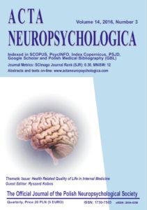 ACTA Neuropsychologia