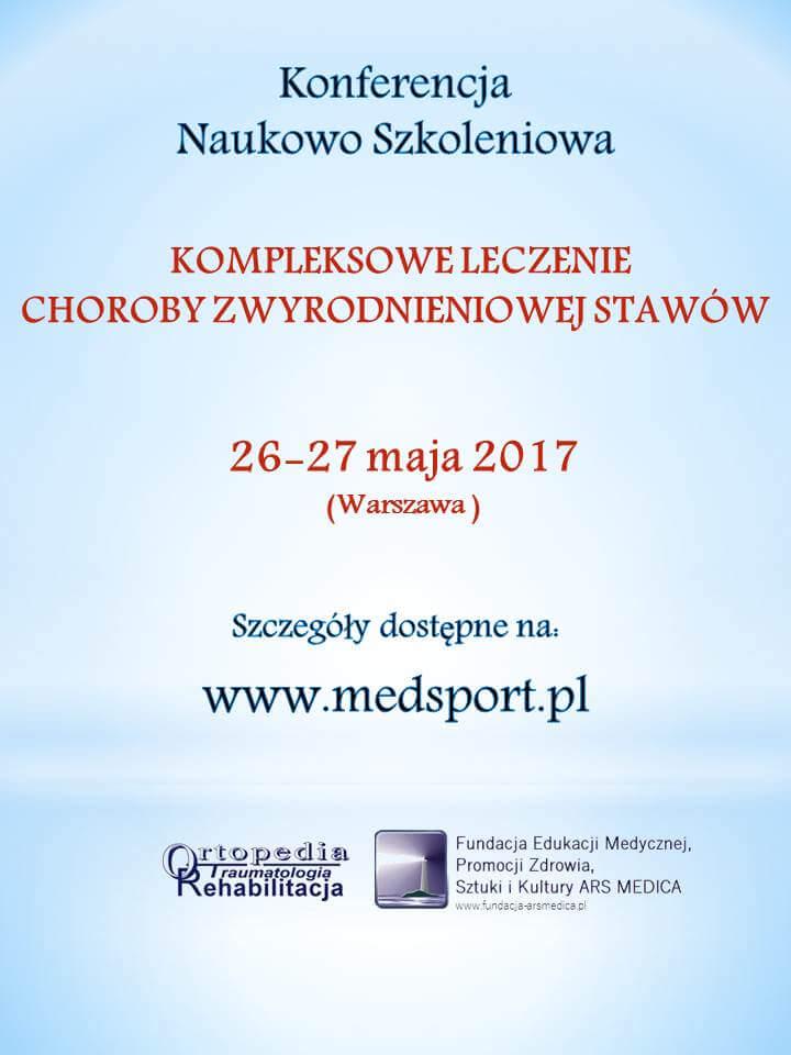 KONFERENCJA NAUKOWO SZKOLENIOWA 26-27.05.2017